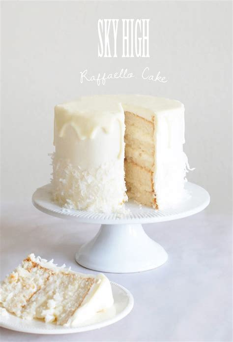 sky high raffaello cake  sweetest occasion