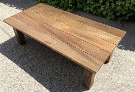 Reclaimed Wood Coffee Table (11