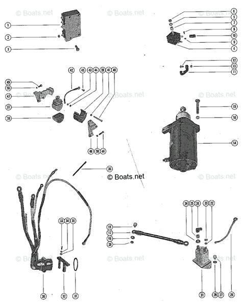 Mercury Wiring Harnes Diagram by Mercury Mercury Mariner Outboard Parts By Hp Liter