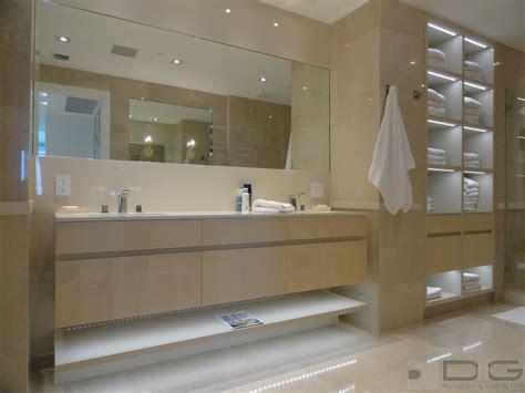 Contemporary Bathroom Cabinet by Bathroom Storage Ideas Dng Millwork Miami