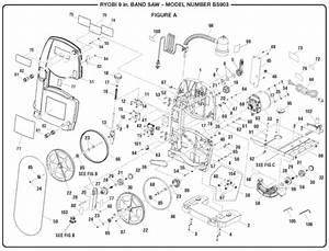 Ryobi Bs903 9 U0026quot  Band Saw Parts And Accessories