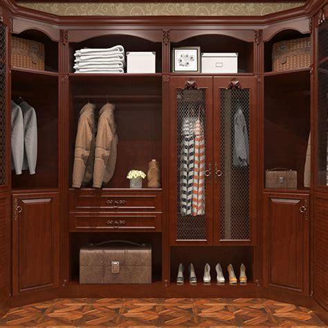 Cherry Wood Wardrobe Closet by Oppein Gorgeous Cherry Wood Walk In Closet Yg16 S01