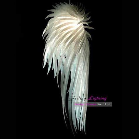 wings led pendant l white modern pp plastic led