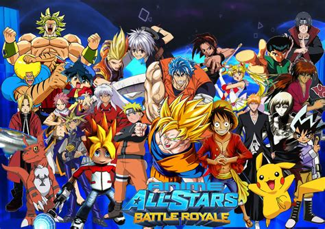 All Anime In One Wallpaper - anime all battle royale by supersaiyancrash on deviantart
