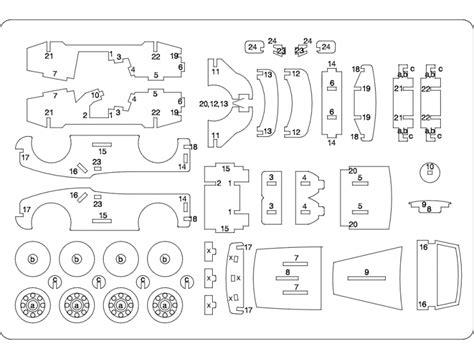 Car Laser Dxf File Free Download