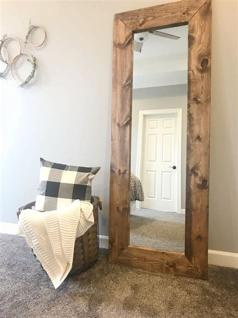wooden bathroom mirrors how to build a diy wood mirror frame the holtz house 15225