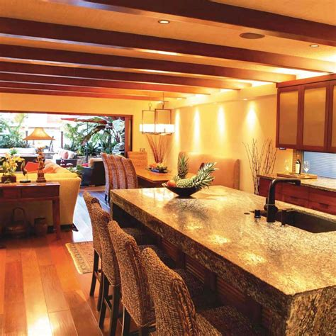 balinese kitchen design a visit to a beautiful balinese style waterfront home 1454
