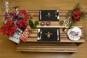 Un Noel Memorable : l 39 art de dresser la table pour un no l contemporain madeleine leblanc am nagement ~ Melissatoandfro.com Idées de Décoration