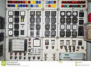 Submarine control panel stock image. Image of technology ...