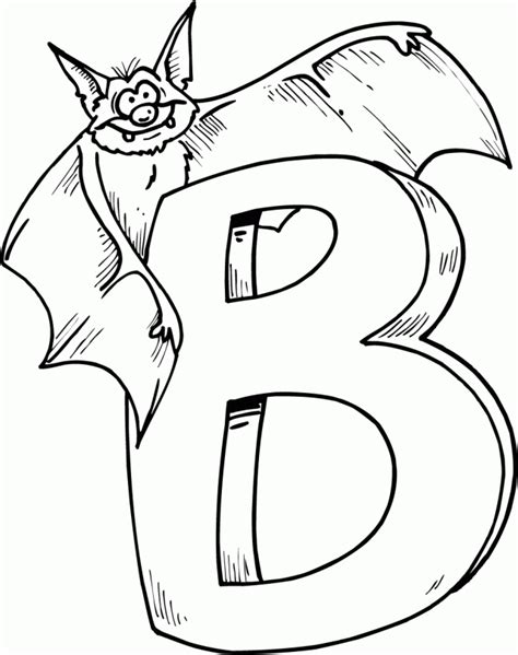 letter b coloring pages preschool and kindergarten 176 | free letter b printable coloring pages for preschool