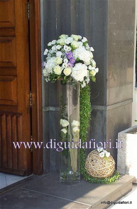 composizioni in vaso composizione floreale in vaso di vetro matrimonio napoli