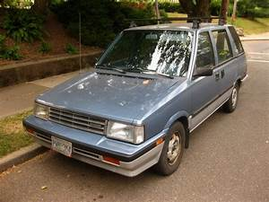 Old Parked Cars   1988 Nissan Stanza Wagovan