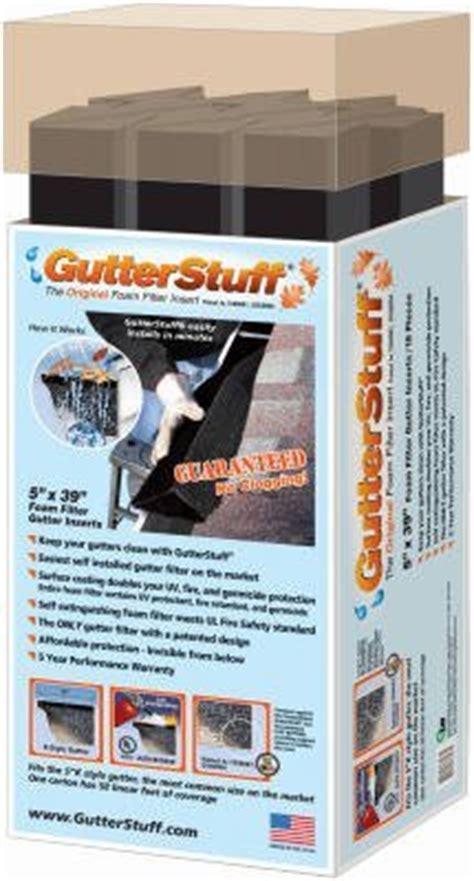 """39"""" x 5"""", Gutter Stuff Foam, Keeps Your Gutters Clean"""