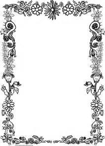 printable frames and borders