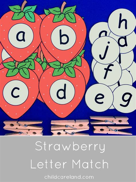 strawberry letter match for letter recognition and 803 | a57422b64d84b10f920c1ca0cb3125be
