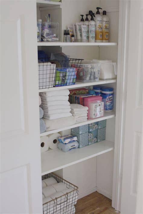 Bathroom Closet Storage Ideas With Innovative Inspiration