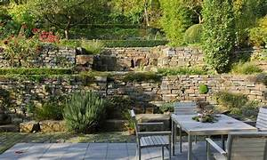 Gartengestaltung Böschung Gestalten : garten hanglage befestigen google suche garten pinterest trockenmauer suche und google ~ Markanthonyermac.com Haus und Dekorationen