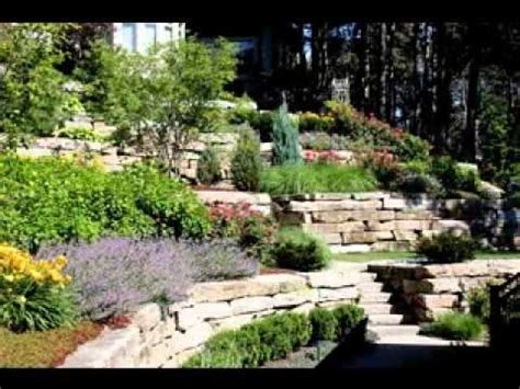 Landscaping Ideas For Small Sloping Backyards by Hillside Landscaping Design Ideas