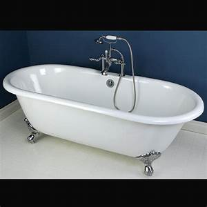 72 Lena Cast Iron Clawfoot Tub Monarch Imperial Feet Modern Home