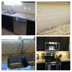 marble backsplash in kitchen subway tile backsplash light beige glass subway tile in 7362