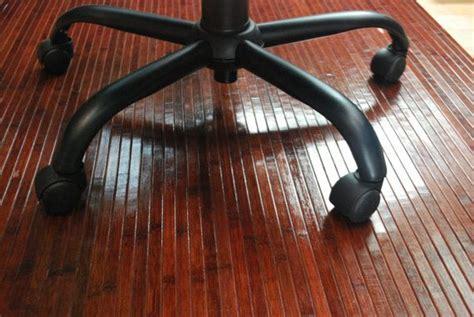 cherry bamboo chair mat office floor mat wood