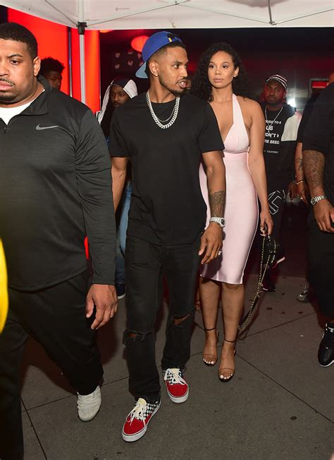trey songz attends compound  year anniversary