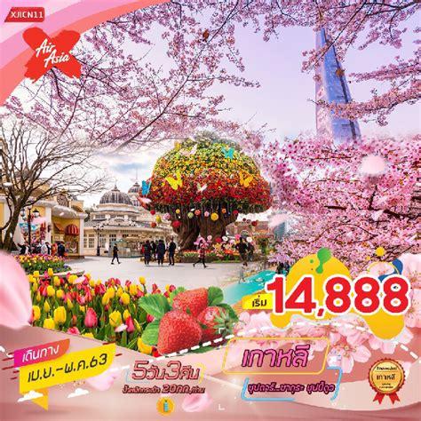 เที่ยวเกาหลี สวนสนุกเอเวอร์แลนด์ 5 วัน 3 คืน | ทัวร์เต็มร้อย