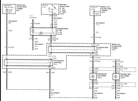 Need Wiring Diagram For Ford Mustang Fog Lights