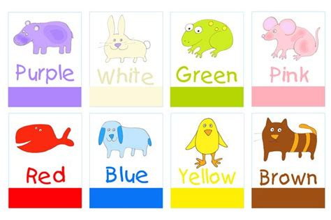 printable color poster for preschool printable preschool 867 | 22ac9b32769915952d978ba75cd27255