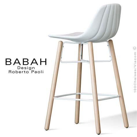 chaises de cuisine design tabouret de cuisine design babah wood 65 pieds bois