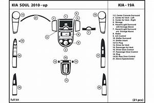 2011 Kia Soul Dash Kits