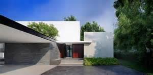 entree de maison moderne maison contemporaine au style japonais