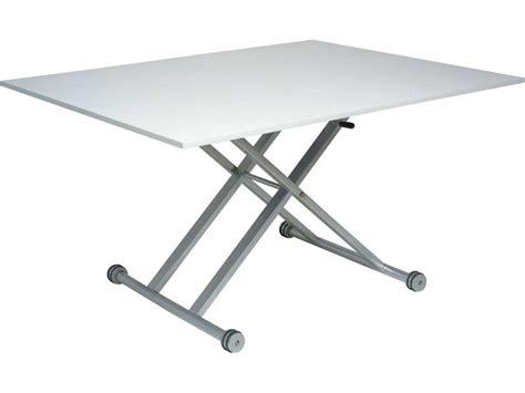 table ajustable hauteur