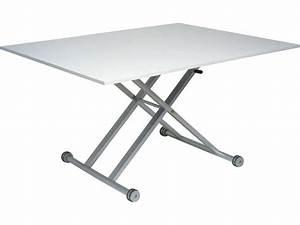 Table Basse Reglable Hauteur : table adaptable en hauteur ~ Carolinahurricanesstore.com Idées de Décoration