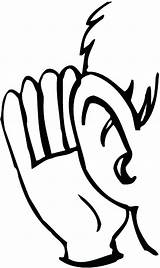 Listening Ear Ears Coloring Drawing Pages Hear Listen Mlm Human Lobe Leads Sign Template Line Convert Clipart Adults Getdrawings Ups sketch template