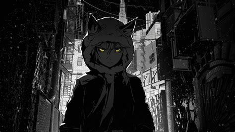 black aesthetic anime wallpapers