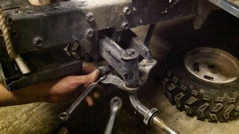 front axle swap upgrade craftsman   newer youtube