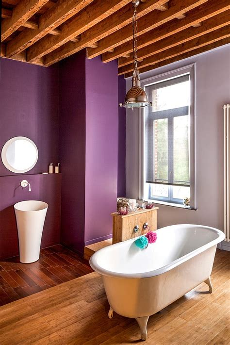 amazing purple bathroom ideas  inspirations