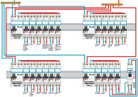 consuel electrique maison individuelle tableau 233 lectrique avec fichier source en psd 23 messages