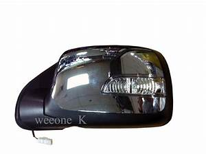 1 Left Side Power Mirror Side Rear View With Turn Signal