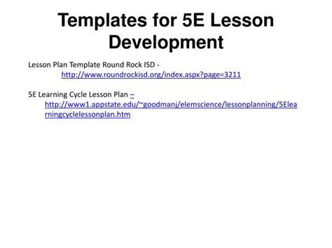 templates   lesson development powerpoint