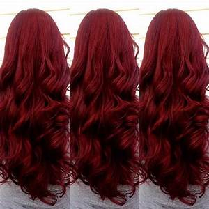 20 Red Long Hairstyles Hairstyles Haircuts 2016 2017