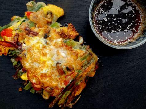 cuisiner les choux de bruxelles recettes des crêpes coréennes aux légumes ou aux fruits de mer