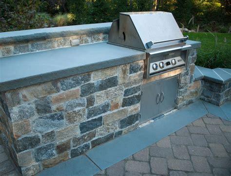 Bluestone Countertops by Outdoor Fireplaces Archives Clc Landscape Design