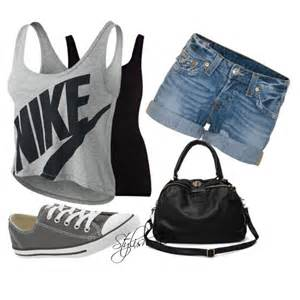 Cute Summer Outfits Polyvore with Shorts