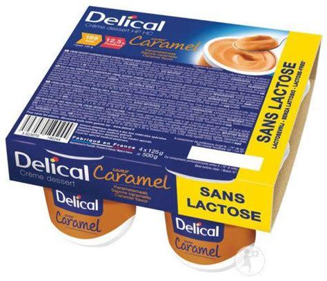 delical cr 232 me dessert hp hc sans lactose saveur caramel 4x125g achetez ici 224 prix bas