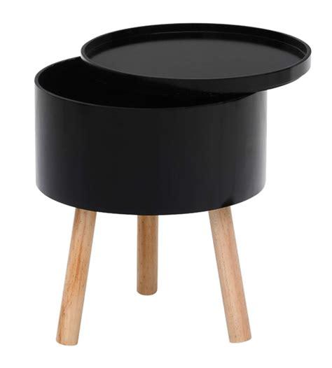bout de canapé noir bout de canape trieste noir hetre