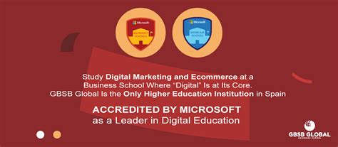 masters in digital marketing europe master in digital marketing and e commerces in madrid gbsb
