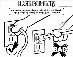 elementary safety With connections through circuits shocking