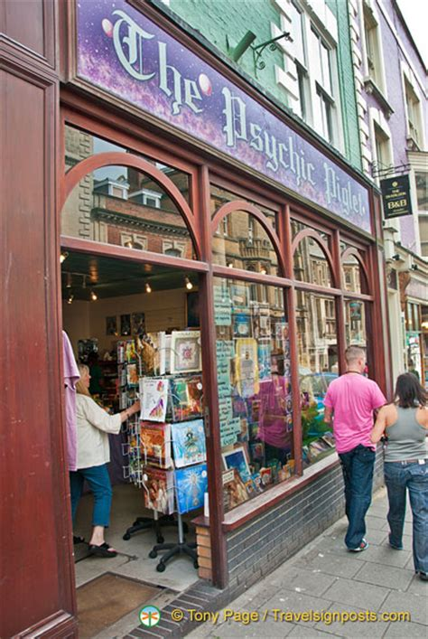 The Psychic Piglet Is A New Age Shop At 8 High Street